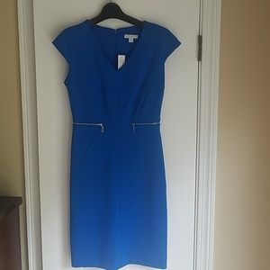 NWT NY&Co  Blue Sheath Dress